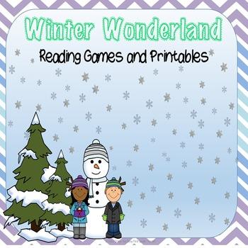 Winter Activities ELA