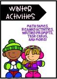 Christmas Activities - Winter Activities- ELA and Math Activities!