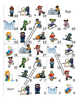 Winter Activities ESL Games