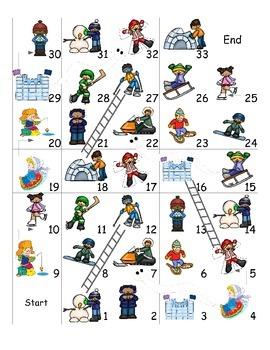 Winter Activities ESL Games