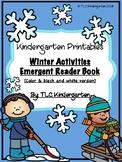 Winter Activities: Sight Word Book