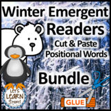 Winter Activities Emergent Reader Bundle, January Activities
