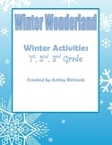 Winter Activities (Essay, Main Idea, Sequence, Writing) wi