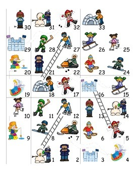 Winter  Fun Activities FOREIGN LANGUAGE Games (Spanish,Italian,German etc)
