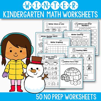 Snowman Math Worksheets Teaching Resources Teachers Pay Teachers