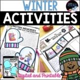 Winter Activities - Fun, Ready to Go, No Prep Winter Worksheets, Winter Bingo