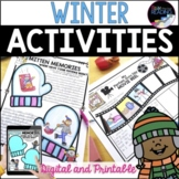 Winter Activities - No Prep Winter Worksheets, New Years Activities 2019
