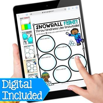 Winter Activities - No Prep Winter Worksheets, New Years Activities