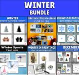 Winter Activities Montessori Growing Bundle
