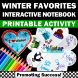Winter Craft Activity (Craftivity) Interactive Notebook Wr