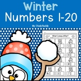 Winter Activities: Numbers 1-20 (Winter Math for Kindergarten)