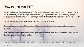 Winter Activities PPT with Simple Brain Engaging Method for Better Learning!