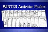 Winter Activities Packet