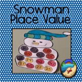 Winter Math Craft: Place Value