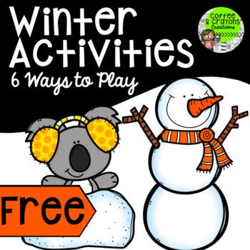 Winter Activities Preschool Kindergarten