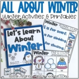 Winter Activities & Printables - Busy Book for Toddlers & Preschoolers