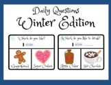 Winter Activities- Question of the Day