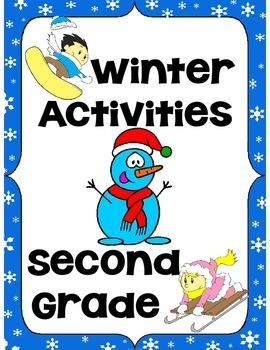 Winter Activities Second Grade (Literacy & Math)
