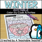 Winter Activities | Color by Sight Word Activities | Edita