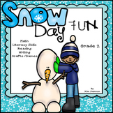 Winter Activities Snow Days Unit of Fun, Skills, Games, and More! CCSS Grade 2