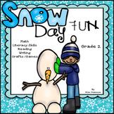 Winter Activities Snow Days Unit of Fun, Skills, Games, an