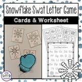 Winter Activities - Snowflake Alphabet Game