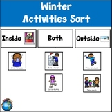 Winter Activities Sort