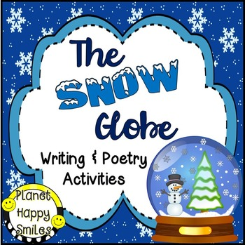 Winter Activities ~ The Snow Globe:  Poetry and Writing