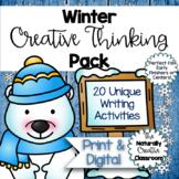 Winter Activities Pack: 20 Creative Winter Activities- Printable & FILLABLE PDF