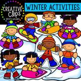 Winter Activities: Winter Clipart {Creative Clips Clipart}