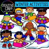Winter Activities: Winter Clipart {Creative Clips Clipart}