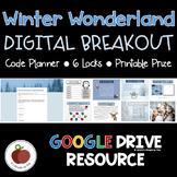 Winter Activities - Winter Escape Room - Winter Breakout - Digital
