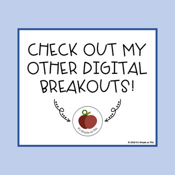 Winter Activities - Winter Escape Room - Winter Breakout - Digital