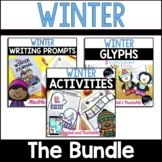 Winter Bundle: Paper & Digital Winter Activities, Glyphs,