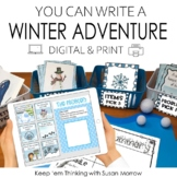 Winter Activities - Winter Writing Center: Write a Winter Story