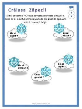 Winter Activities Worksheet