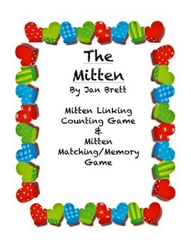 Winter Activities based off of The Mitten by Jane Brett