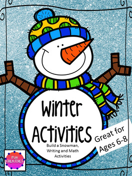Winter Activities for 6-8 Year olds