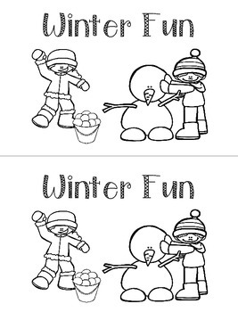No Prep Winter Activities