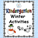 Winter Activities for Kindergarten {Literacy and Math}