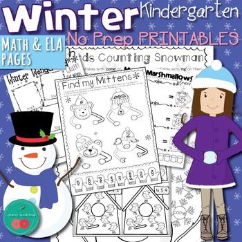 Winter Activities for Kindergarten