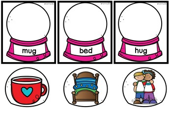 Winter Activities for Kindergarten (reading, math, and write)