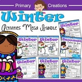 Winter Activities for Preschool and PreK BUNDLE