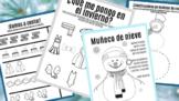 Winter Activities in Spanish for Kids