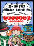 Winter Activity FREEBIE! 3 Fun Winter Activities!