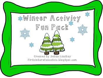 Winter Activity Fun Pack