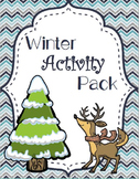 Winter Activity Pack - January