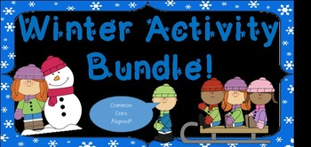 Winter Activity Page Bundle