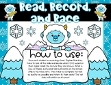 Winter Activity: Read, Record, and Race CVC Word Activity