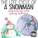 Winter Activity - Snowman Life Cycle (practicing sequencing)